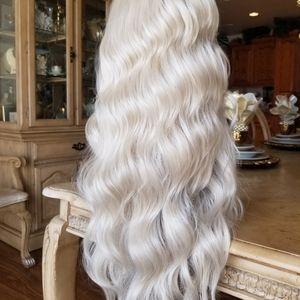 Pale Blonde Lace Front Wig